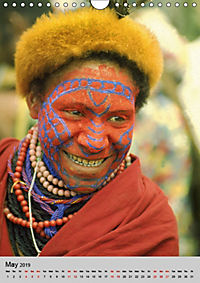 Faces of New Guinea (Wall Calendar 2019 DIN A4 Portrait) - Produktdetailbild 5