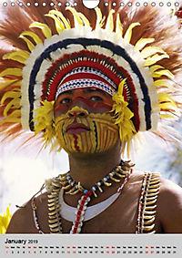 Faces of New Guinea (Wall Calendar 2019 DIN A4 Portrait) - Produktdetailbild 1