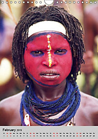 Faces of New Guinea (Wall Calendar 2019 DIN A4 Portrait) - Produktdetailbild 2