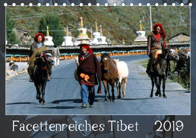 Facettenreiches Tibet (Tischkalender 2019 DIN A5 quer), Manfred Bergermann