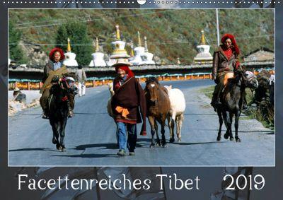 Facettenreiches Tibet (Wandkalender 2019 DIN A2 quer), Manfred Bergermann