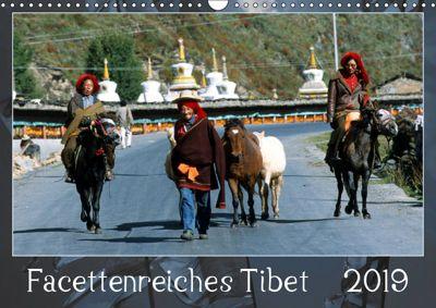 Facettenreiches Tibet (Wandkalender 2019 DIN A3 quer), Manfred Bergermann