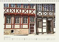 FACHWERK FASSADEN QUEDLINBURG (Wandkalender 2019 DIN A4 quer) - Produktdetailbild 1