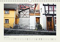 FACHWERK FASSADEN QUEDLINBURG (Wandkalender 2019 DIN A4 quer) - Produktdetailbild 4