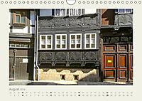 FACHWERK FASSADEN QUEDLINBURG (Wandkalender 2019 DIN A4 quer) - Produktdetailbild 8