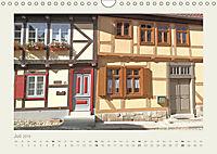 FACHWERK FASSADEN QUEDLINBURG (Wandkalender 2019 DIN A4 quer) - Produktdetailbild 7