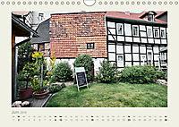 FACHWERK FASSADEN QUEDLINBURG (Wandkalender 2019 DIN A4 quer) - Produktdetailbild 6