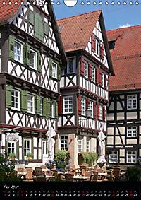 Fachwerk in Süddeutschland (Wandkalender 2019 DIN A4 hoch) - Produktdetailbild 5