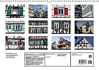 Fachwerk und Fensterläden in Herrenberg (Wandkalender 2019 DIN A3 quer) - Produktdetailbild 13