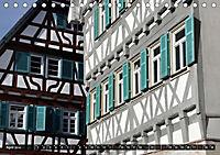 Fachwerk und Fensterläden in Herrenberg (Tischkalender 2019 DIN A5 quer) - Produktdetailbild 4