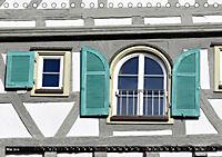 Fachwerk und Fensterläden in Herrenberg (Tischkalender 2019 DIN A5 quer) - Produktdetailbild 5