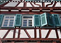 Fachwerk und Fensterläden in Herrenberg (Tischkalender 2019 DIN A5 quer) - Produktdetailbild 10