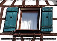 Fachwerk und Fensterläden in Herrenberg (Wandkalender 2019 DIN A3 quer) - Produktdetailbild 1