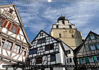 Fachwerk und Fensterläden in Herrenberg (Wandkalender 2019 DIN A3 quer) - Produktdetailbild 2