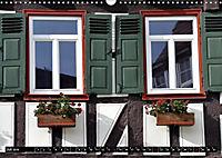 Fachwerk und Fensterläden in Herrenberg (Wandkalender 2019 DIN A3 quer) - Produktdetailbild 7