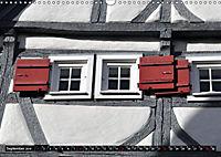 Fachwerk und Fensterläden in Herrenberg (Wandkalender 2019 DIN A3 quer) - Produktdetailbild 9