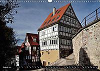 Fachwerk und Fensterläden in Herrenberg (Wandkalender 2019 DIN A3 quer) - Produktdetailbild 8