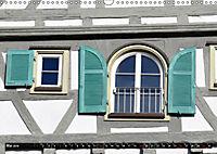 Fachwerk und Fensterläden in Herrenberg (Wandkalender 2019 DIN A3 quer) - Produktdetailbild 5