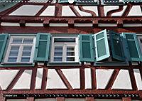 Fachwerk und Fensterläden in Herrenberg (Wandkalender 2019 DIN A3 quer) - Produktdetailbild 10