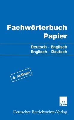 Fachwörterbuch Papier
