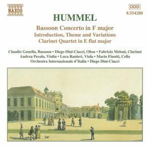 Fagottkonzert/Klarinettenqu., Claudio Gonella, D. Dini-Ciacci