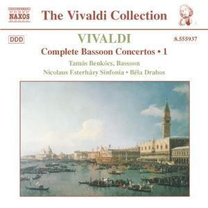 Fagottkonzerte Vol.1, Benkocs, Drahos, Esterhazy Sinfo