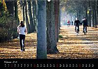 Fahrrad-Hauptstadt MÜNSTER im goldenen Grün (Wandkalender 2019 DIN A2 quer) - Produktdetailbild 2