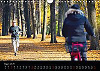 Fahrrad-Hauptstadt MÜNSTER im goldenen Grün (Wandkalender 2019 DIN A4 quer) - Produktdetailbild 3