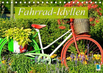 Fahrrad-Idyllen (Tischkalender 2019 DIN A5 quer), CALVENDO