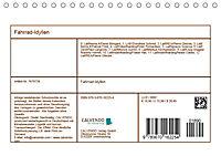 Fahrrad-Idyllen (Tischkalender 2019 DIN A5 quer) - Produktdetailbild 13