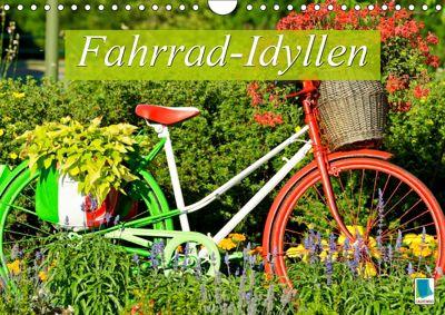 Fahrrad-Idyllen (Wandkalender 2019 DIN A4 quer), CALVENDO