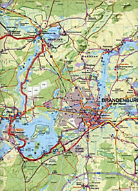 Fahrradkarte Havelland - Produktdetailbild 1