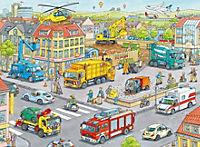 Fahrzeuge in der Stadt Puzzleteile: 100 - Produktdetailbild 1