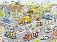 Fahrzeuge in der Stadt Puzzleteile: 100 - Produktdetailbild 2