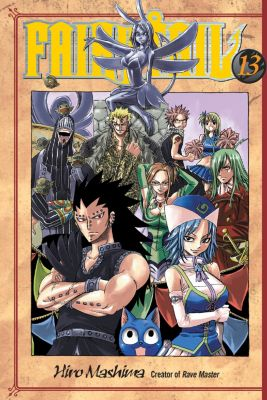 Fairy Tail 13, Hiro Mashima