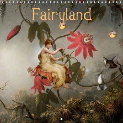 Fairyland (Wall Calendar 2019 300 × 300 mm Square), Yvonne Pfeifer