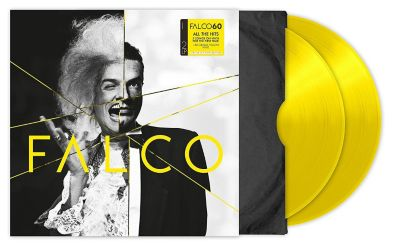 Falco 60 (2 LPs, 140gr Yellow Vinyl), Falco