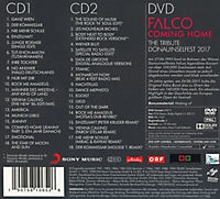 Falco 60 - Coming Home (Deluxe Edition, 2 CDs + DVD) - Produktdetailbild 1