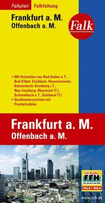 Falk Plan Frankfurt a. M., Offenbach a. M., Falkfaltung -  pdf epub