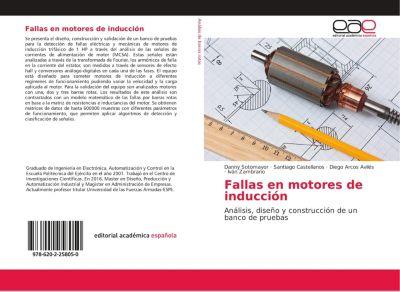 Fallas en motores de inducción, Danny Sotomayor, Santiago Castellanos, Nicolai Espinosa, Diego Arcos Avilés · Iván Zambrano