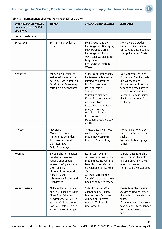 Fallbuch Ergotherapie in der Pädiatrie Buch portofrei - Weltbild.ch