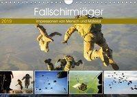 Fallschirmjäger 2019. Impressionen von Mensch und Material (Wandkalender 2019 DIN A4 quer), Steffani Lehmann