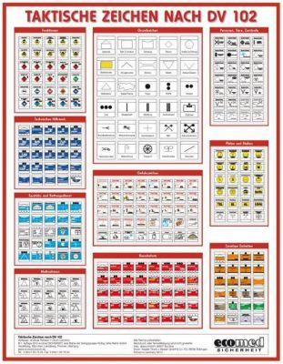 Faltkarte Taktische Zeichen, Andreas Rehbein, Ulrich Cimolino