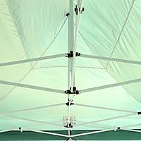 Faltpavillon inkl. 4 Seitenteilen (Farbe: grün) - Produktdetailbild 4