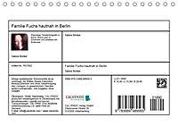 Familie Fuchs hautnah in Berlin (Tischkalender 2019 DIN A5 quer) - Produktdetailbild 13
