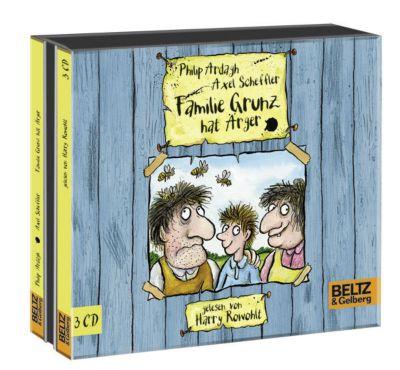 Familie Grunz Band 1: Familie Grunz hat Ärger (3 Audio-CDs), Philip Ardagh