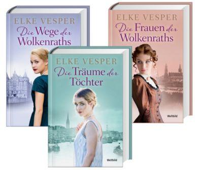 Familien-Wolkenrath-Saga Die Frauen der Wolkenraths/Die Träume der Töchter/Die Wege der Wolkenraths, Elke Vesper