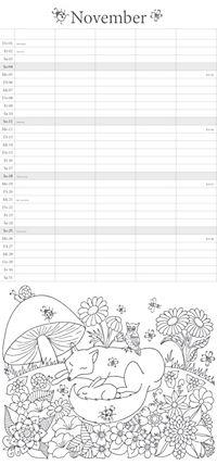 """Familienplaner """"Ausmalen und Entspannen"""" - Produktdetailbild 11"""