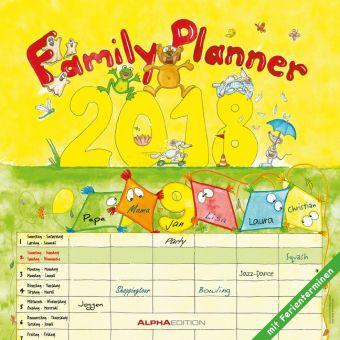 Familienplaner / Family Planner 2018