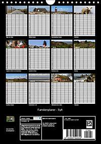 Familienplaner - Sylt (Wandkalender 2019 DIN A4 hoch) - Produktdetailbild 13